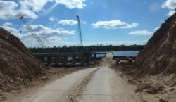 Сооружение моста через реку Великая, путепровода на ПК33+72, путепровода на ПК40+60. Северный обход г. Пскова