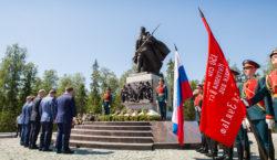 ПРЕСС-РЕЛИЗ: на 561 км М-11 «НЕВА» открыт мемориал «Погибшим при защите Отечества»